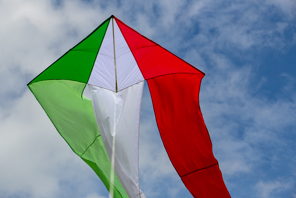 F-tail Delta,Italy,Skytex: Green, White, Red